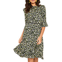 Buy Oasis Long Ditsy Tea Dress, Multi Online at johnlewis.com