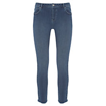Buy Mint Velvet Maryland Raw Hem Skinny Jeans, Light Blue Online at johnlewis.com
