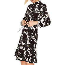 Buy Oasis Magnolia Skater Shirt Dress, Multi/Black Online at johnlewis.com