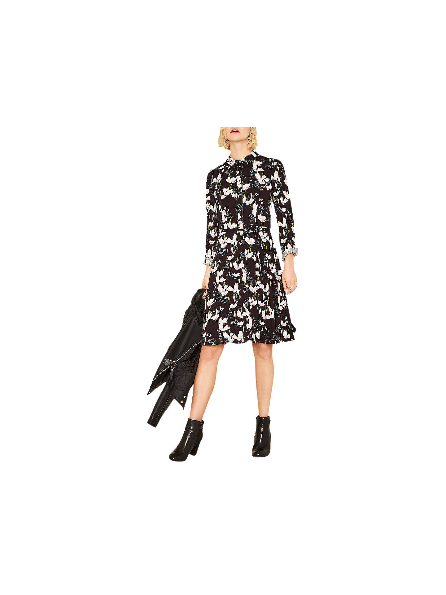 2f3119a6a9d0 Buy Oasis Magnolia Skater Shirt Dress