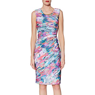 Gina Bacconi Asha Print Dress, Multi