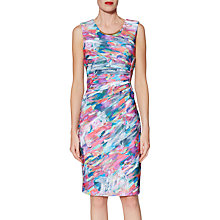 Buy Gina Bacconi Asha Print Dress, Multi Online at johnlewis.com
