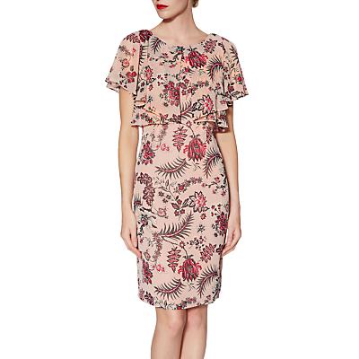 Gina Bacconi Maeve Print Dress, Pink