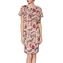 Buy Gina Bacconi Maeve Print Dress, Pink Online at johnlewis.com
