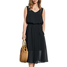 Buy hush Marina Dress, Black Online at johnlewis.com