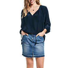 Buy hush Raw Edge Mini Skirt Online at johnlewis.com