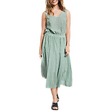 Buy hush Marina Dress, Ditsy Granite Green Online at johnlewis.com