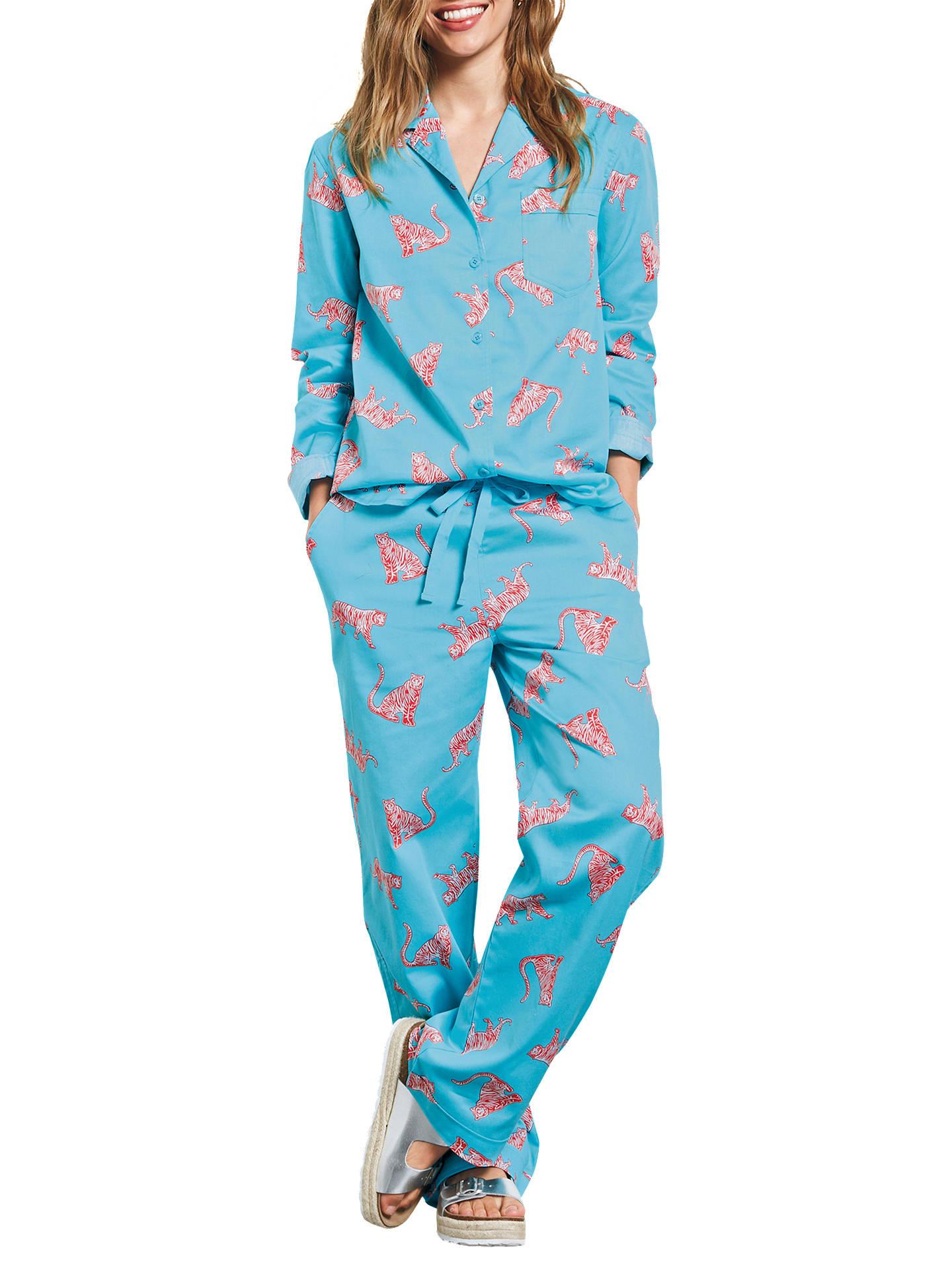 Buyhush Tiger Cotton Pyjama Set 9d54446a7
