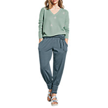 Buy hush Starbright Jumper, Granite Green/Silver Online at johnlewis.com
