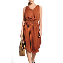 Buy hush V-Neck Cerys Dress, Picante Online at johnlewis.com