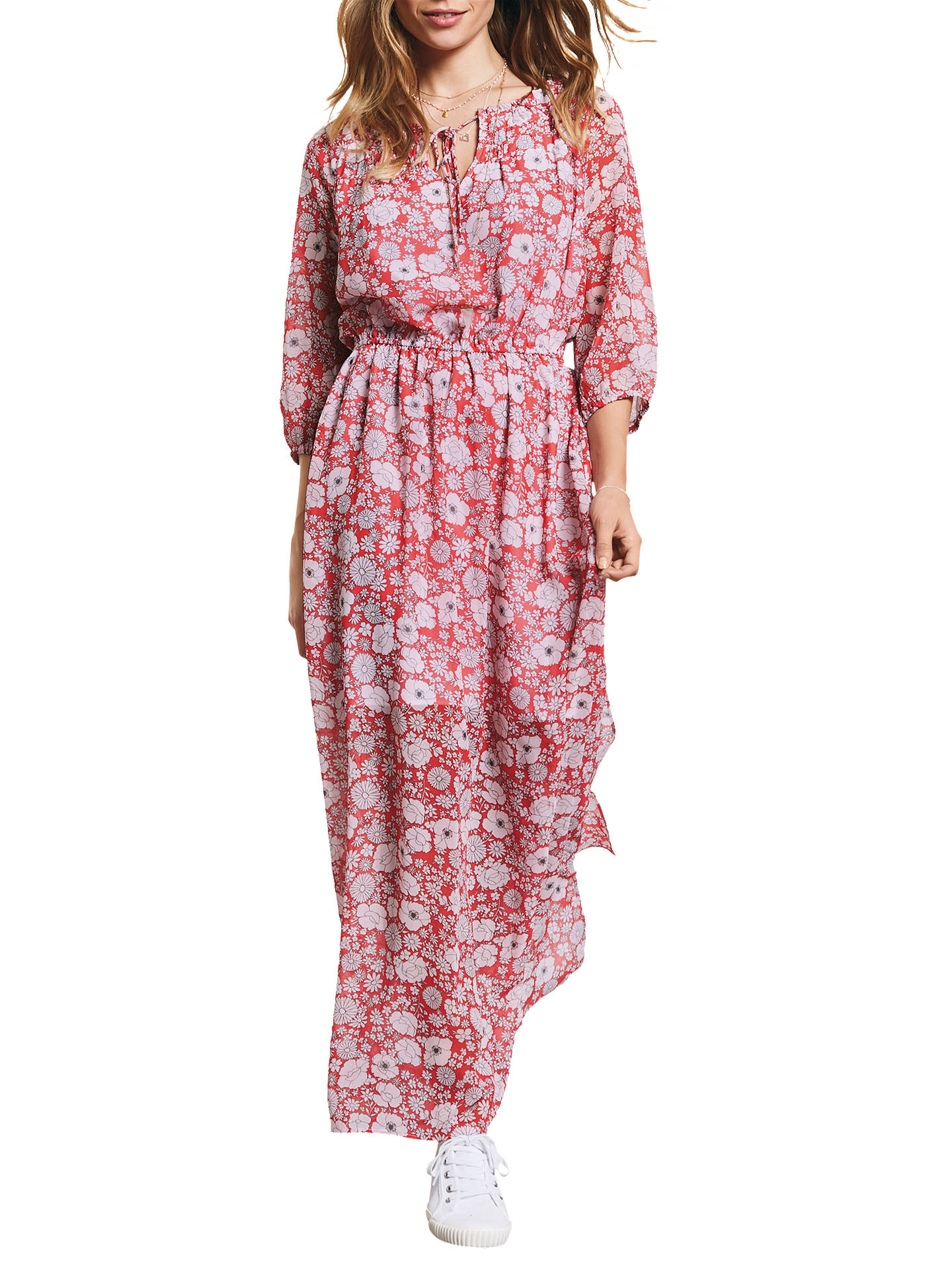 Buyhush Tabitha Maxi Dress, Wild Flower Hibiscus , 6 Online at johnlewis.com
