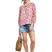 Buy hush Tabitha Top, Wild Flower Hibiscus Online at johnlewis.com