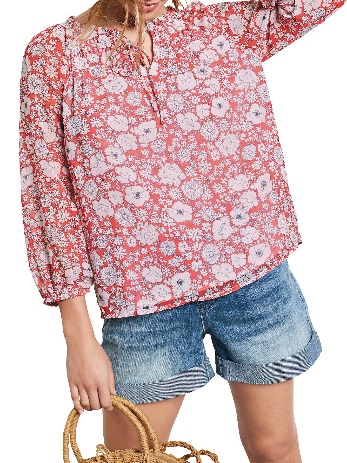 Hush Tabitha Top Wild Flower Hibiscus At John Lewis Partners