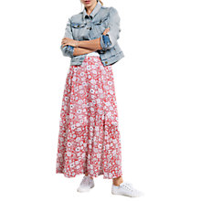 Buy hush Tabitha Maxi Skirt, Wild Flower Hibiscus Online at johnlewis.com