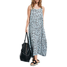 Buy hush Panel Maxi Dress, Woodblock Baby Blue Online at johnlewis.com