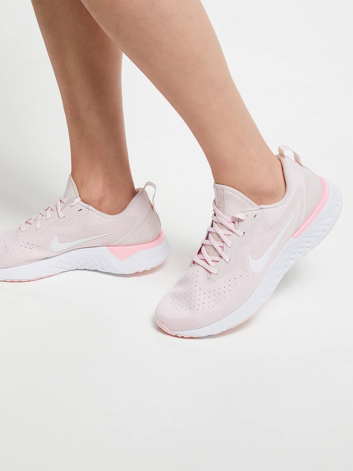 finest selection 368e7 d2f91 ... Buy Nike Odyssey React Womens Running Shoe, Arctic PinkWhite, 4  Online at ...