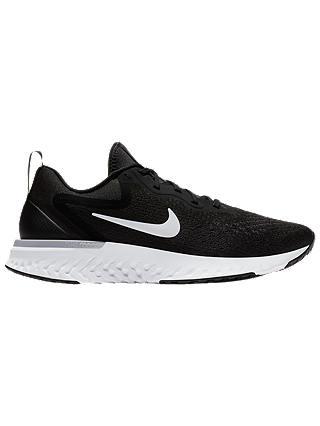 cargando Inquieto sentido  Nike Odyssey React Women's Running Shoe, Black/White/Wolf Grey at John  Lewis & Partners