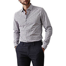 Buy Reiss Envoy Geometric Print Slim Fit Shirt Online at johnlewis.com