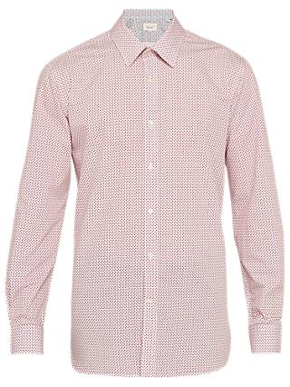 Ted Baker Mixx Diamond Print Tailored Fit Shirt, Pink