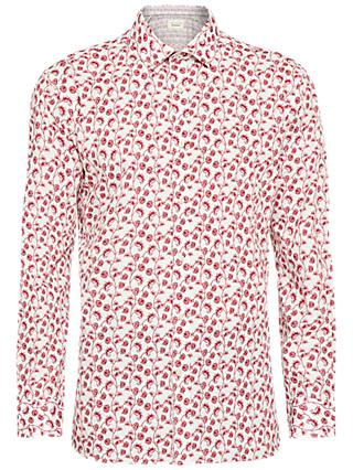 Ted Baker Greck Floral Tailored Fit Shirt