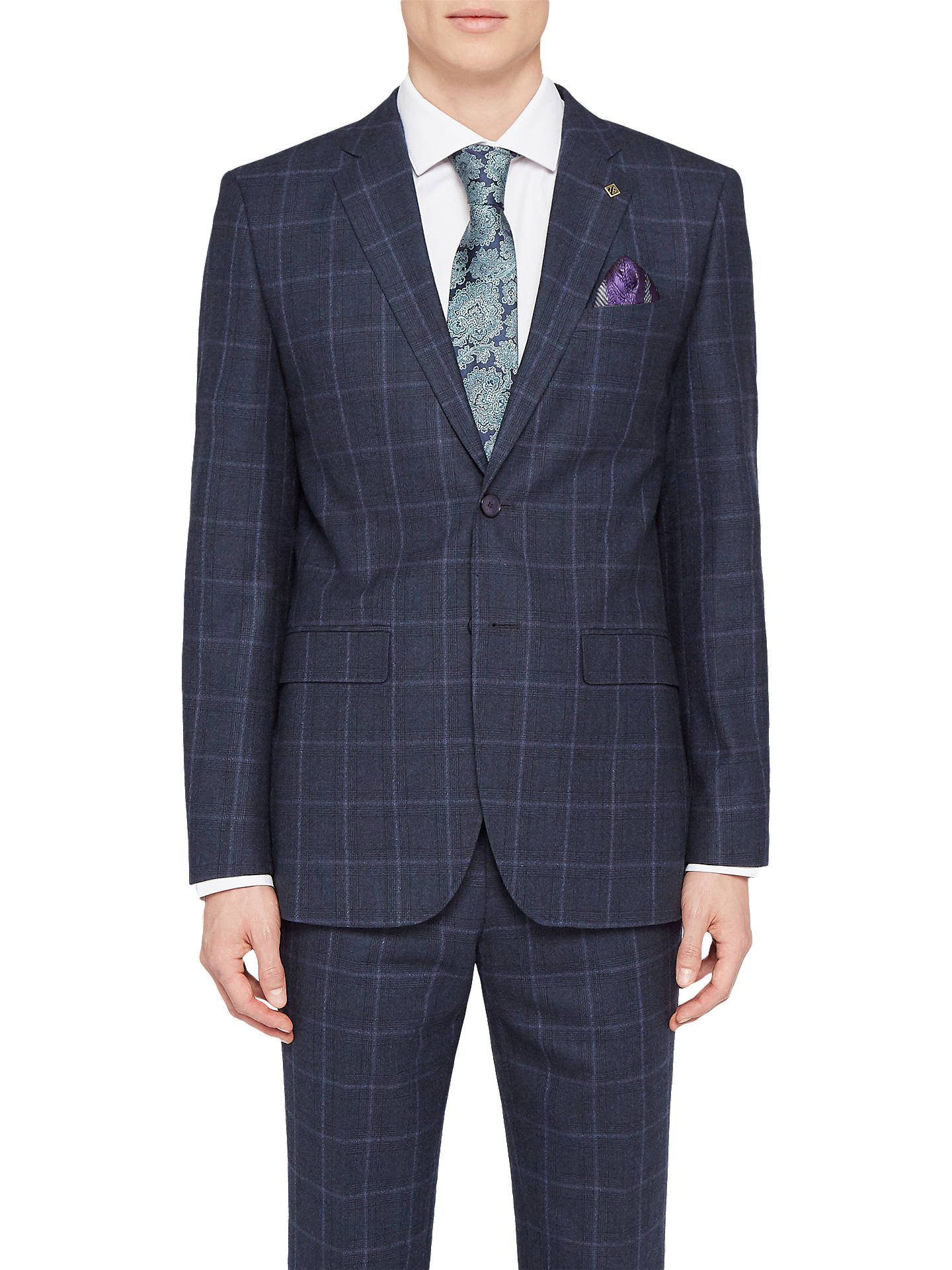 1671a5ea7783b Buy Ted Baker Stefanj Check Tailored Suit Jacket