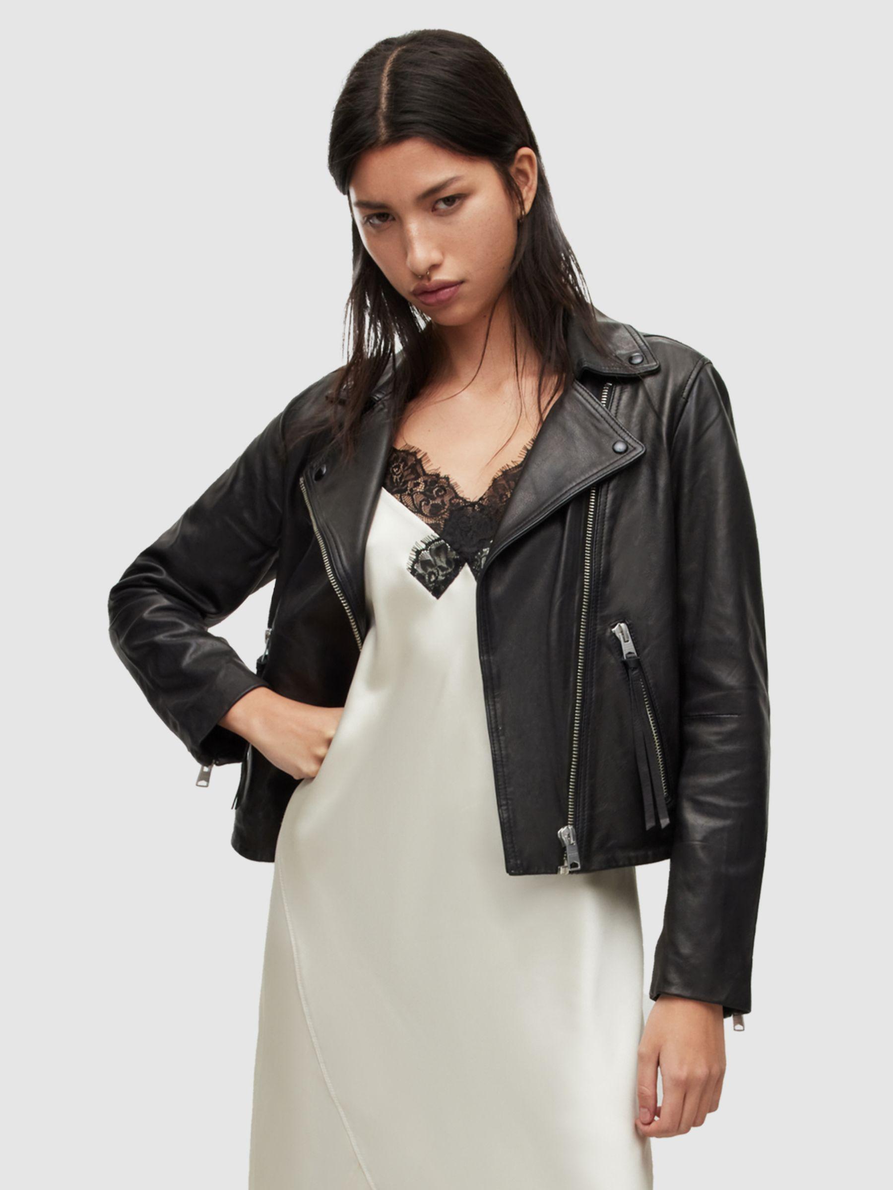 AllSaints AllSaints Dalby Leather Biker Jacket