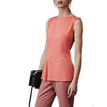 Buy Reiss Islia Ladder Trim Top Online at johnlewis.com