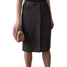 Buy Reiss Pencil Skirt, Charcoal Online at johnlewis.com