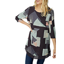 Buy White Stuff Elke Print Tunic Top, Bretton Grey Print Online at johnlewis.com