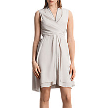 Buy AllSaints Jayda Dress, Champagne Pink Online at johnlewis.com