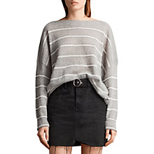 Buy AllSaints Misty Striped Jumper Online at johnlewis.com