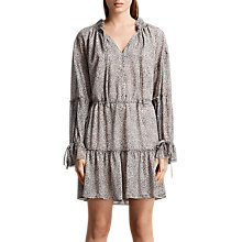 Buy AllSaints Adara Dress, Pale Pink Online at johnlewis.com