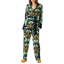 Buy Jigsaw Trees Trousers, Navy Online at johnlewis.com