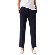 Buy Jigsaw Voyager Portofino Trousers, Navy Online at johnlewis.com