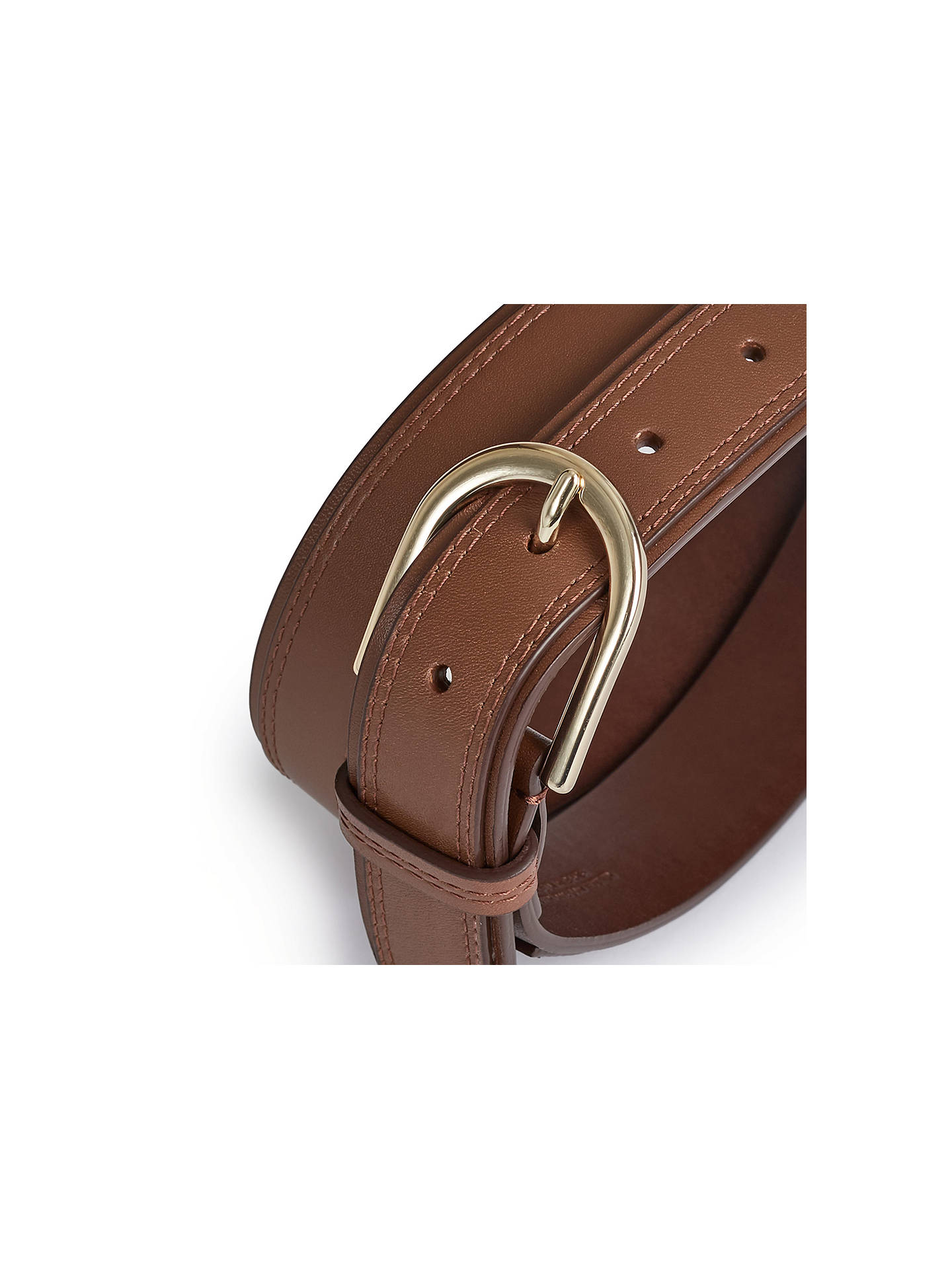 BuyReiss Viola Belt, Tan, XS Online at johnlewis.com