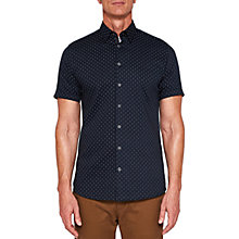 Buy Ted Baker T For Tall Franktt Short Sleeve Shirt Online at johnlewis.com