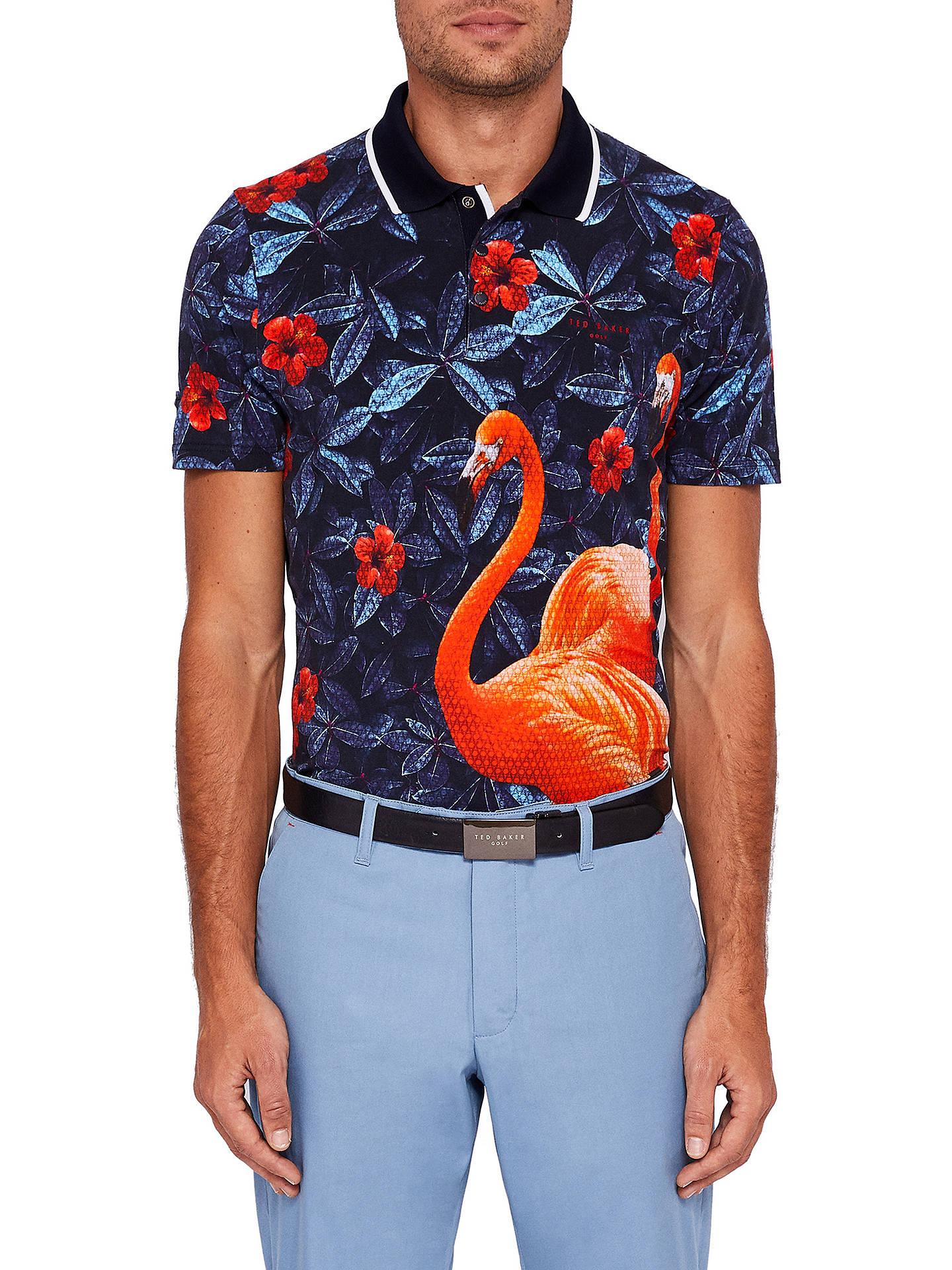 852e5cec0 Buy Ted Baker Golf Ballgo Short Sleeve Printed Polo Shirt
