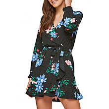 Buy Miss Selfridge Petite Flower and Spot Dress, Multi Online at johnlewis.com