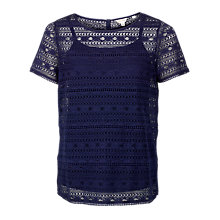 Buy Fat Face Vivienne 2 in 1 Lace Top Online at johnlewis.com