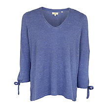 Buy Fat Face Talia Tie Sleeve Jumper Online at johnlewis.com