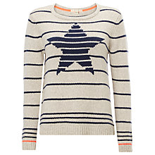 Buy White Stuff Starlight Jumper, Grey Online at johnlewis.com