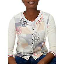 Buy White Stuff Poetic Scatter Print Cardigan, Multi Online at johnlewis.com