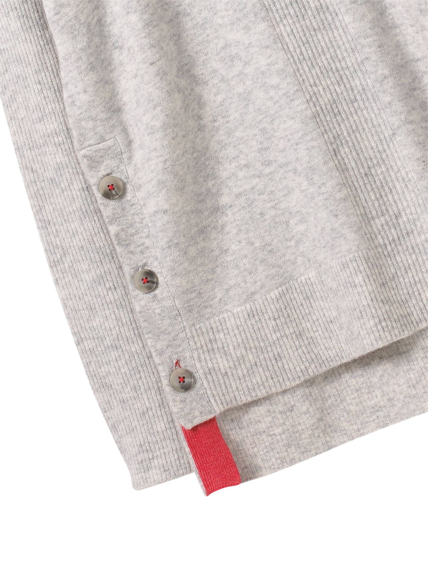 BuyWhite Stuff Cafe Button Side Jumper, Silver/Grey, 6 Online at johnlewis.com