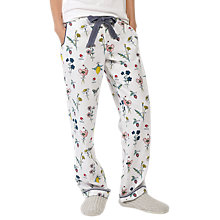 Buy Fat Face Garden Classic Lounge Pants, Ivory Online at johnlewis.com