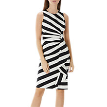 Buy Coast Monochrome Abigail Dress, Black/White Online at johnlewis.com