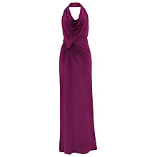 Buy Damsel in a Dress Nina Slinky Maxi Dress, Magenta Online at johnlewis.com