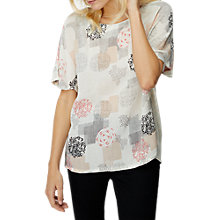 Buy White Stuff Greta Print Top, Multi Online at johnlewis.com