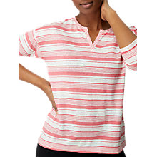 Buy White Stuff Hudson Jersey T-Shirt, Fondant Pink Online at johnlewis.com