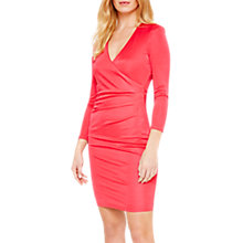 Buy Damsel in a Dress Aya Slinky Wrap Dress, Cherry Online at johnlewis.com