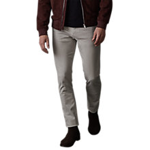Buy Reiss Horris Slim Fit Jeans, Stone Online at johnlewis.com
